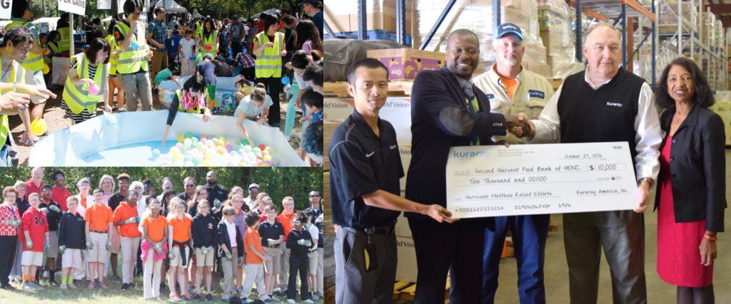 Giving Back to communities - Kuraray America, Inc.
